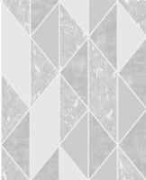Graham and Brown Milan Geo Silver 106405 Wallpaper